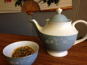 Natural tea for allergies